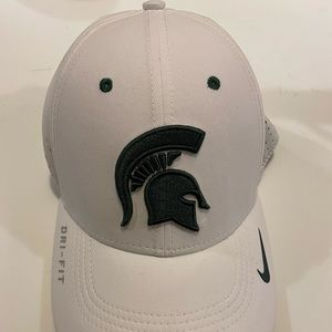 MSU Nike dri-fit baseball hat